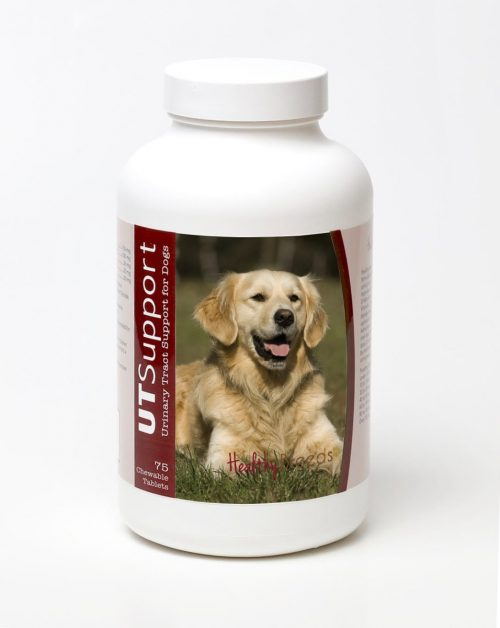 Healthy Breeds 840235143734 Golden Retriever Cranberry Chewables - 75 Count