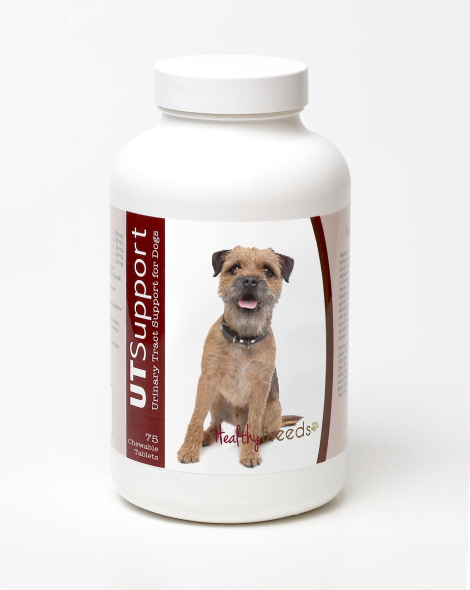 Healthy Breeds 840235143819 Border Terrier Cranberry Chewables - 75 Count