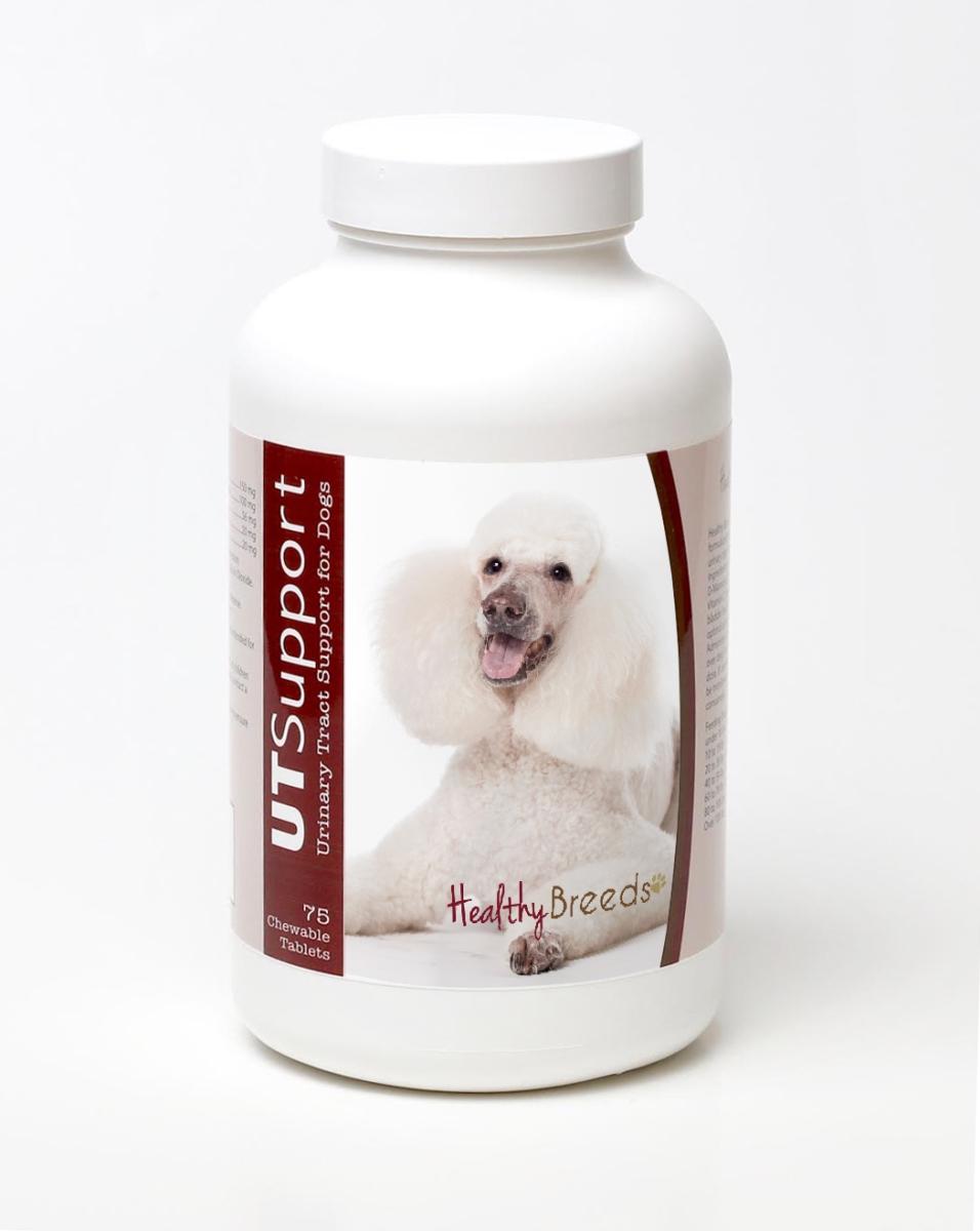 Healthy Breeds 840235143987 Poodle Cranberry Chewables - 75 Count