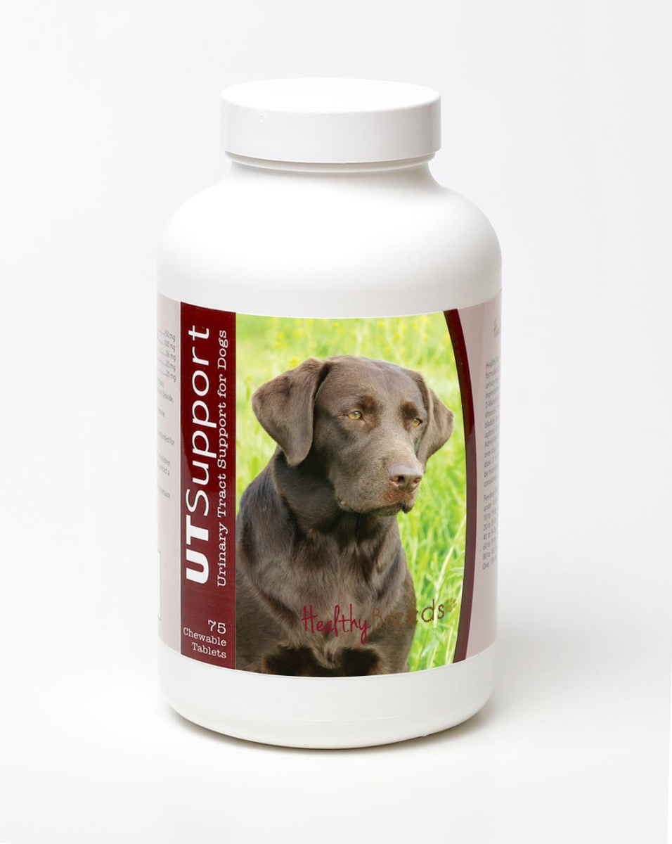 Healthy Breeds 840235144045 Labrador Retriever Cranberry Chewables - 75 Count