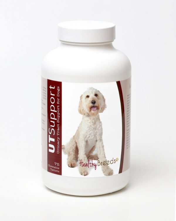 Healthy Breeds 840235144137 Labradoodle Cranberry Chewables - 75 Count