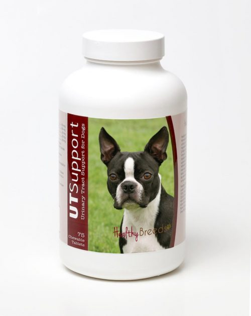 Healthy Breeds 840235144151 Boston Terrier Cranberry Chewables - 75 Count