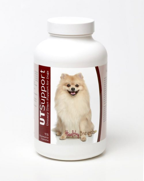 Healthy Breeds 840235144168 Pomeranian Cranberry Chewables - 75 Count