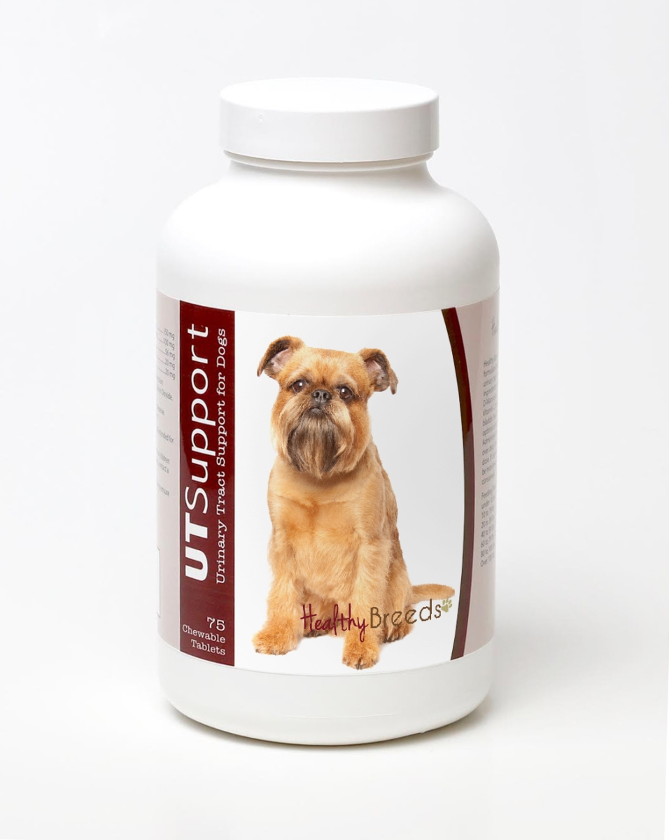 Healthy Breeds 840235144199 Brussels Griffon Cranberry Chewables - 75 Count