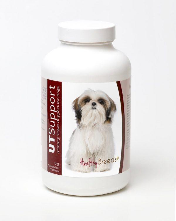 Healthy Breeds 840235144212 Shih Tzu Cranberry Chewables - 75 Count