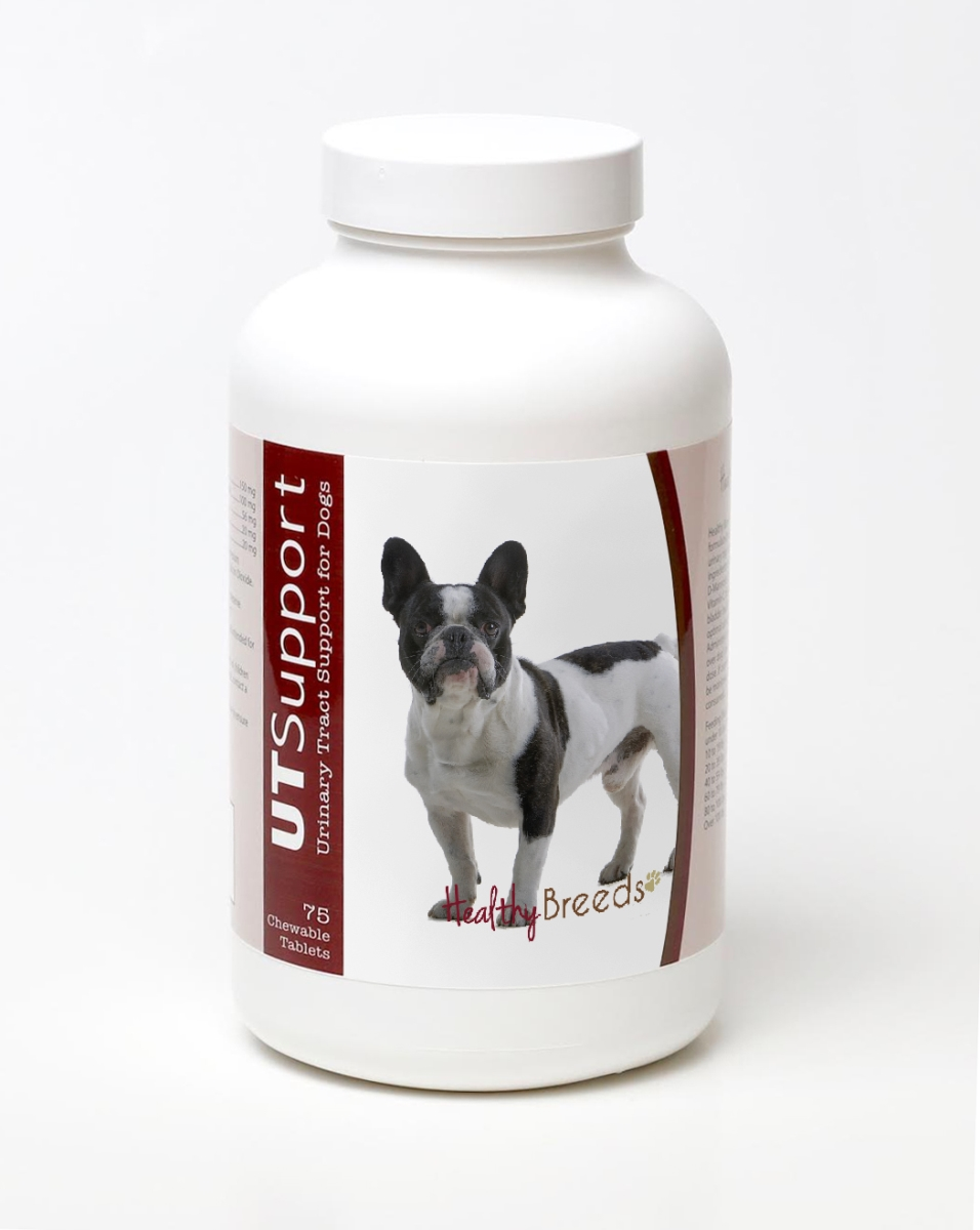 Healthy Breeds 840235144267 French Bulldog Cranberry Chewables - 75 Count