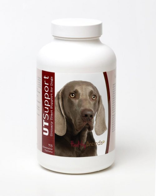 Healthy Breeds 840235144274 Weimaraner Cranberry Chewables - 75 Count