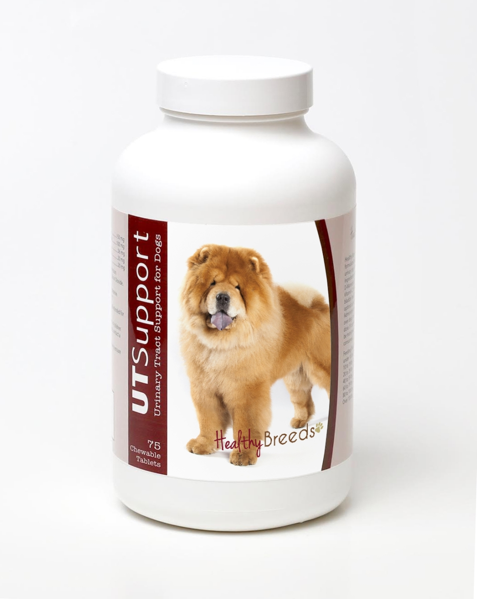 Healthy Breeds 840235144304 Chow Chow Cranberry Chewables - 75 Count