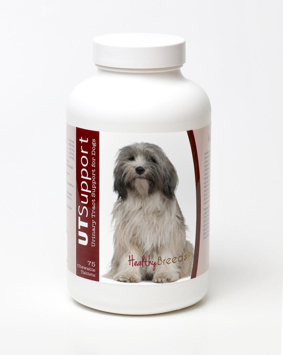 Healthy Breeds 840235144366 Tibetan Terrier Cranberry Chewables - 75 Count