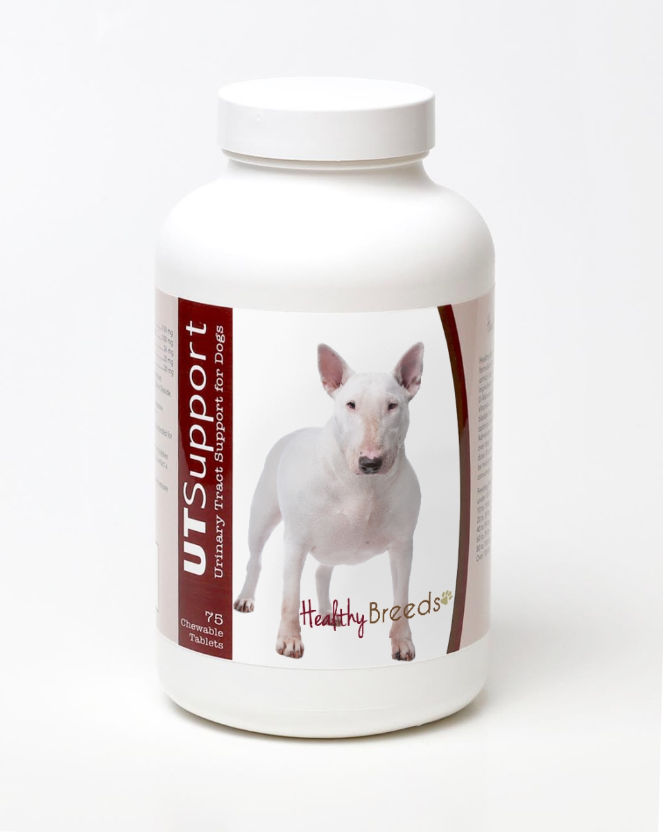 Healthy Breeds 840235144410 Bull Terrier Cranberry Chewables - 75 Count