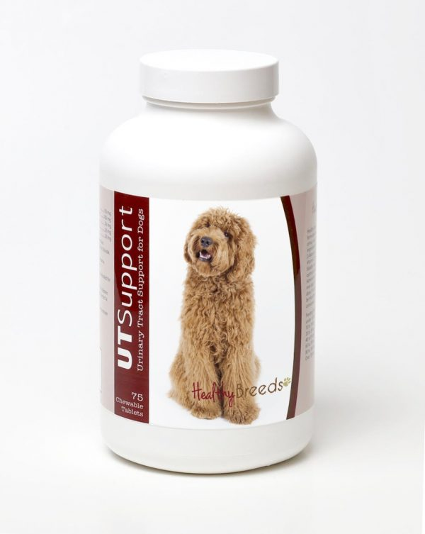 Healthy Breeds 840235144472 Labradoodle Cranberry Chewables - 75 Count