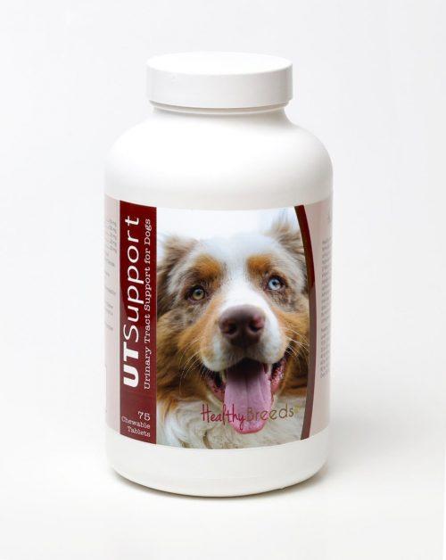 Healthy Breeds 840235144519 Australian Shepherd Cranberry Chewables - 75 Count