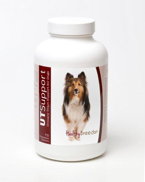 Healthy Breeds 840235144564 Shetland Sheepdog Cranberry Chewables - 75 Count
