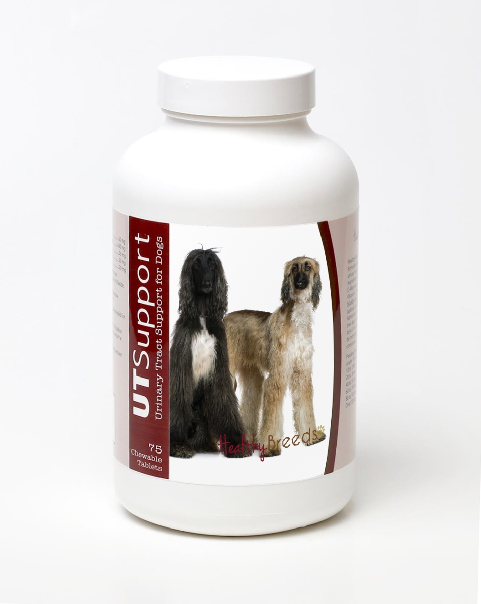 Healthy Breeds 840235144571 Afghan Hound Cranberry Chewables - 75 Count