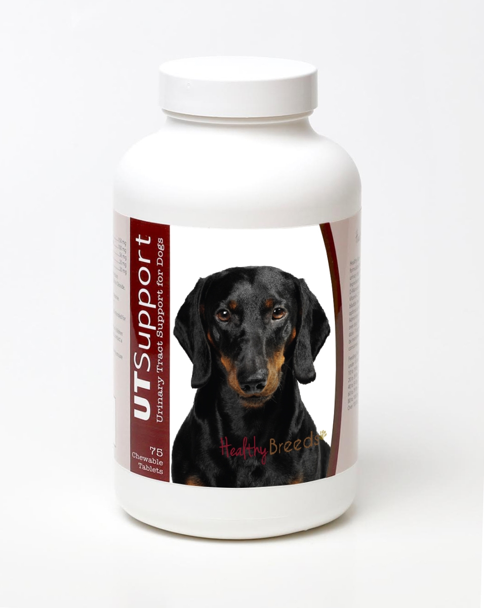 Healthy Breeds 840235144595 Dachshund Cranberry Chewables - 75 Count
