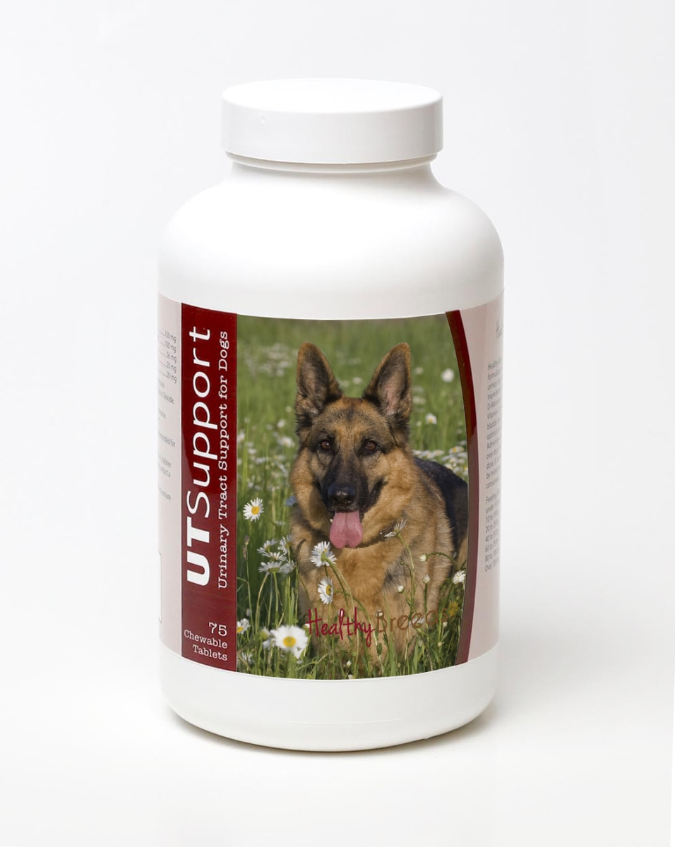Healthy Breeds 840235144632 German Shepherd Cranberry Chewables - 75 Count