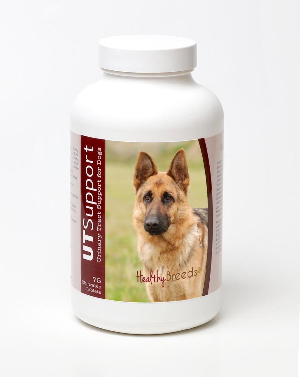 Healthy Breeds 840235144663 German Shepherd Cranberry Chewables - 75 Count