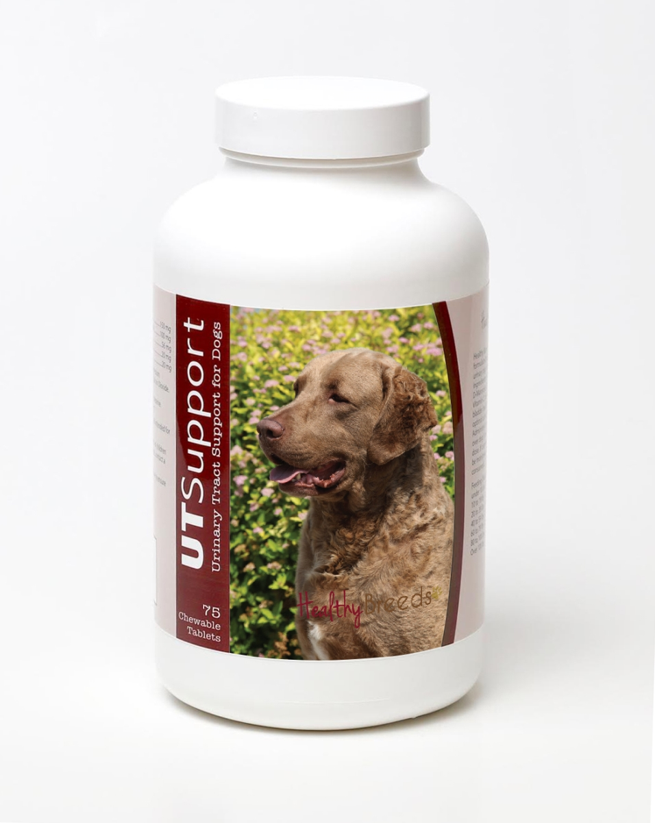 Healthy Breeds 840235144724 Chesapeake Bay Retriever Cranberry Chewables - 75 Count