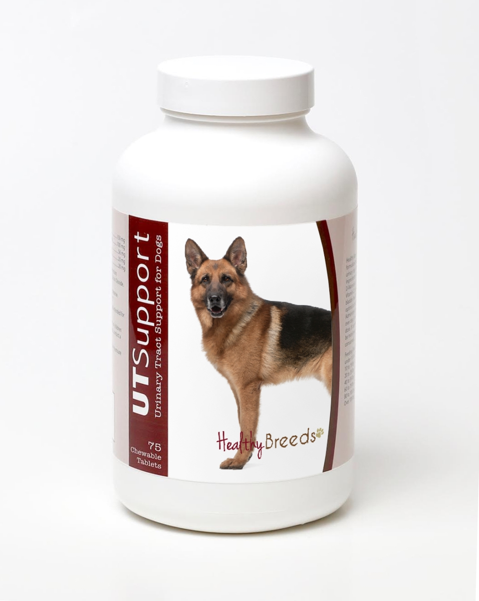 Healthy Breeds 840235144748 German Shepherd Cranberry Chewables - 75 Count