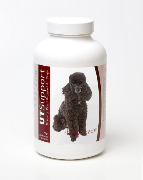 Healthy Breeds 840235144755 Poodle Cranberry Chewables -75 Count
