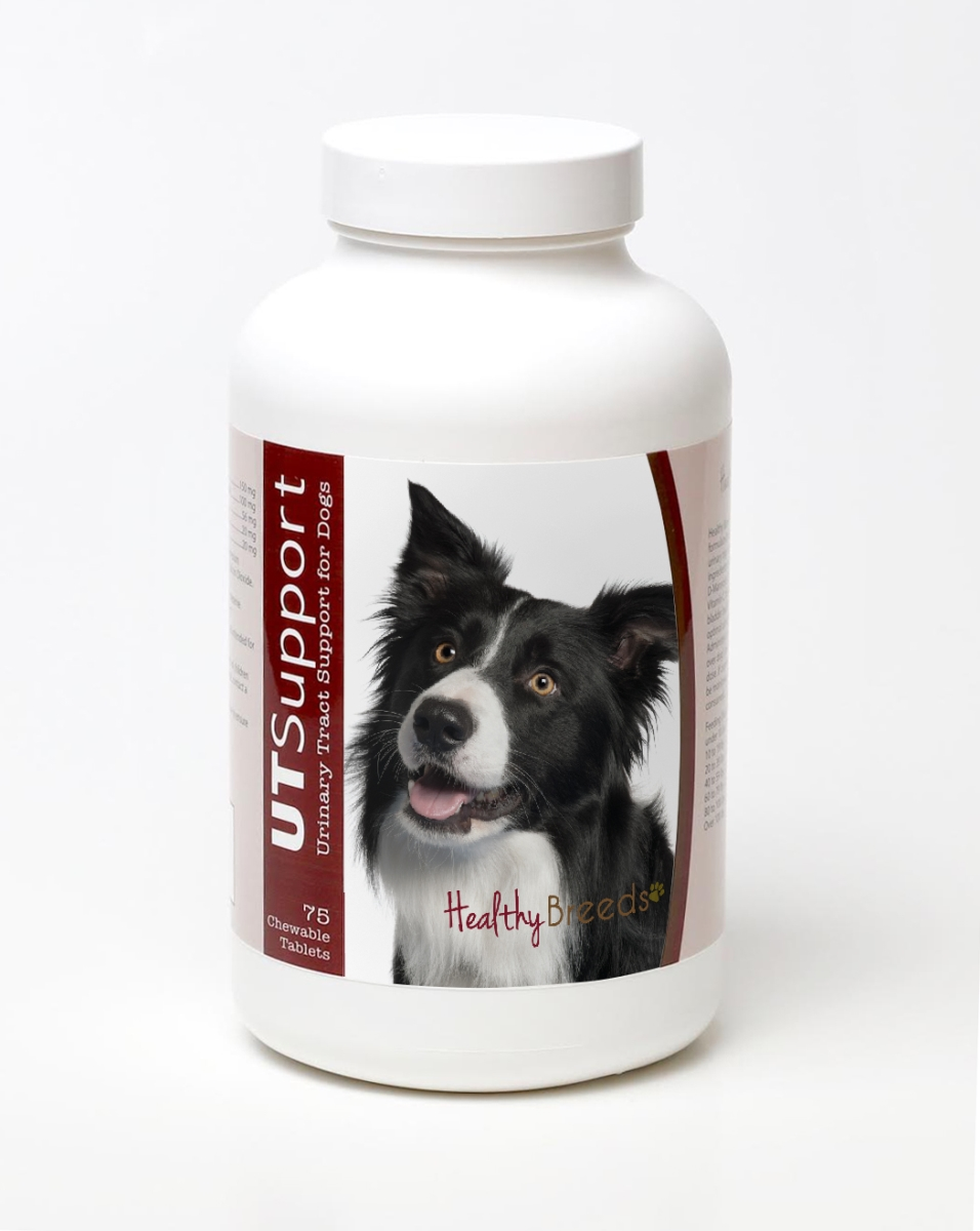 Healthy Breeds 840235144779 Border Collie Cranberry Chewables - 75 Count