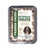 Healthy Breeds 840235146070 8 oz English Springer Spaniel All Natural Freeze Dried Treats Chicken Breast