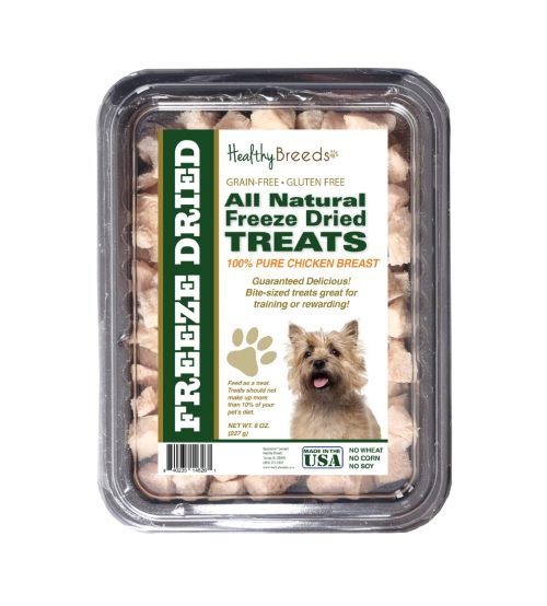 Healthy Breeds 840235146261 8 oz Cairn Terrier All Natural Freeze Dried Treats Chicken Breast