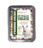 Healthy Breeds 840235146360 8 oz Bull Terrier All Natural Freeze Dried Treats Chicken Breast