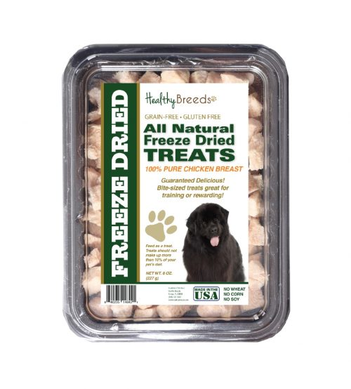 Healthy Breeds 840235146421 8 oz Newfoundland All Natural Freeze Dried Treats Chicken Breast