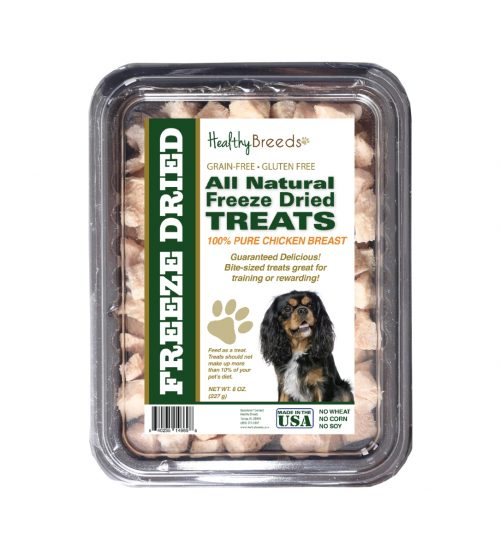 Healthy Breeds 840235146698 8 oz Cavalier King Charles Spaniel All Natural Freeze Dried Treats Chicken Breast
