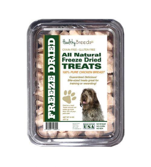 Healthy Breeds 840235146902 8 oz Wirehaired Pointing Griffon All Natural Freeze Dried Treats Chicken Breast