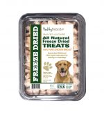 Healthy Breeds 840235147015 8 oz Labrador Retriever All Natural Freeze Dried Treats Chicken Breast