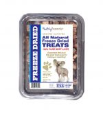 Healthy Breeds 840235147343 10 oz Chinese Crested All Natural Freeze Dried Treats Beef Liver