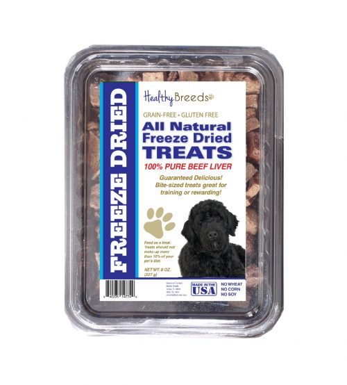Healthy Breeds 840235147350 10 oz Portuguese Water Dog All Natural Freeze Dried Treats Beef Liver