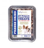 Healthy Breeds 840235147411 10 oz Papillon All Natural Freeze Dried Treats Beef Liver