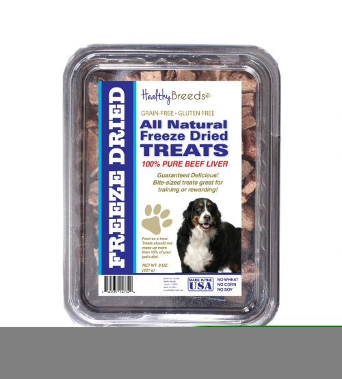 Healthy Breeds 840235147466 10 oz Bernese Mountain Dog All Natural Freeze Dried Treats Beef Liver
