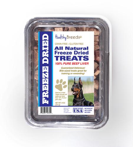 Healthy Breeds 840235147558 10 oz Doberman Pinscher All Natural Freeze Dried Treats Beef Liver