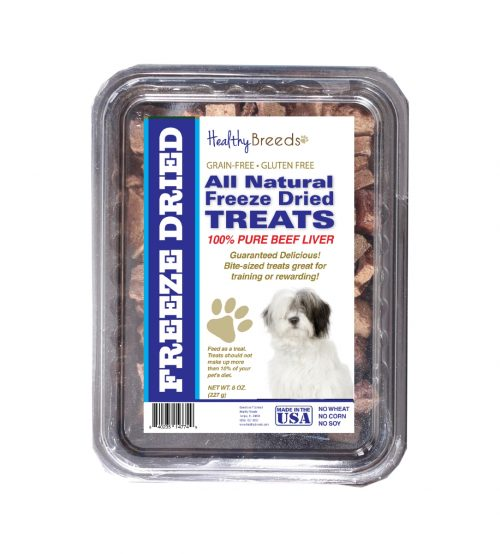 Healthy Breeds 840235147664 10 oz Old English Sheepdog All Natural Freeze Dried Treats Beef Liver
