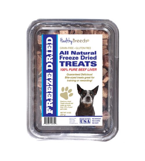 Healthy Breeds 840235147800 10 oz Australian Cattle Dog All Natural Freeze Dried Treats Beef Liver