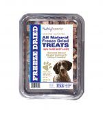 Healthy Breeds 840235147817 10 oz German Shorthaired Pointer All Natural Freeze Dried Treats Beef Liver