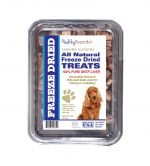 Healthy Breeds 840235147824 10 oz Cocker Spaniel All Natural Freeze Dried Treats Beef Liver