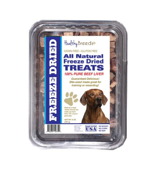 Healthy Breeds 840235147886 10 oz Rhodesian Ridgeback All Natural Freeze Dried Treats Beef Liver