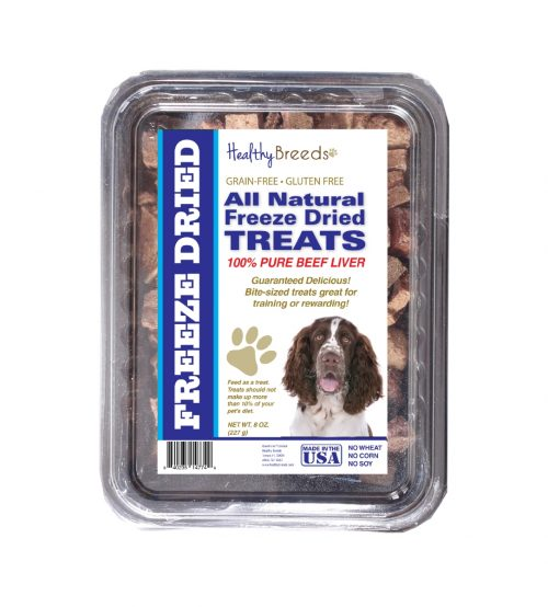 Healthy Breeds 840235147947 10 oz English Springer Spaniel All Natural Freeze Dried Treats Beef Liver
