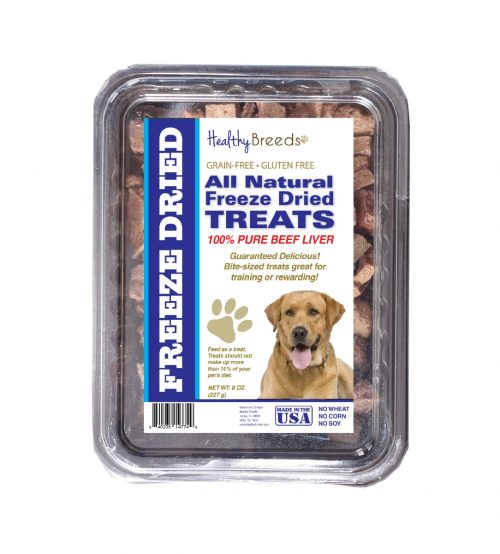 Healthy Breeds 840235148098 10 oz Labrador Retriever All Natural Freeze Dried Treats Beef Liver