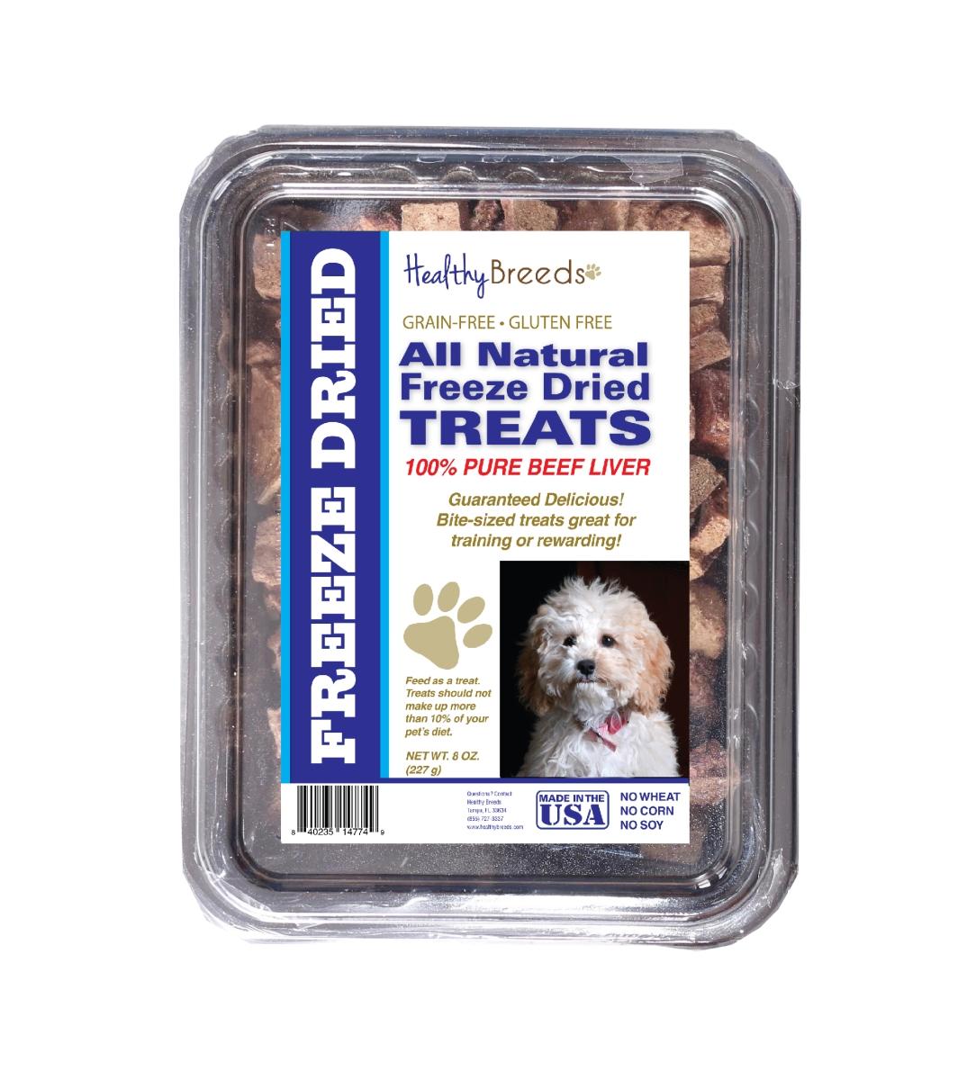 Healthy Breeds 840235148111 10 oz Cockapoo All Natural Freeze Dried Treats Beef Liver