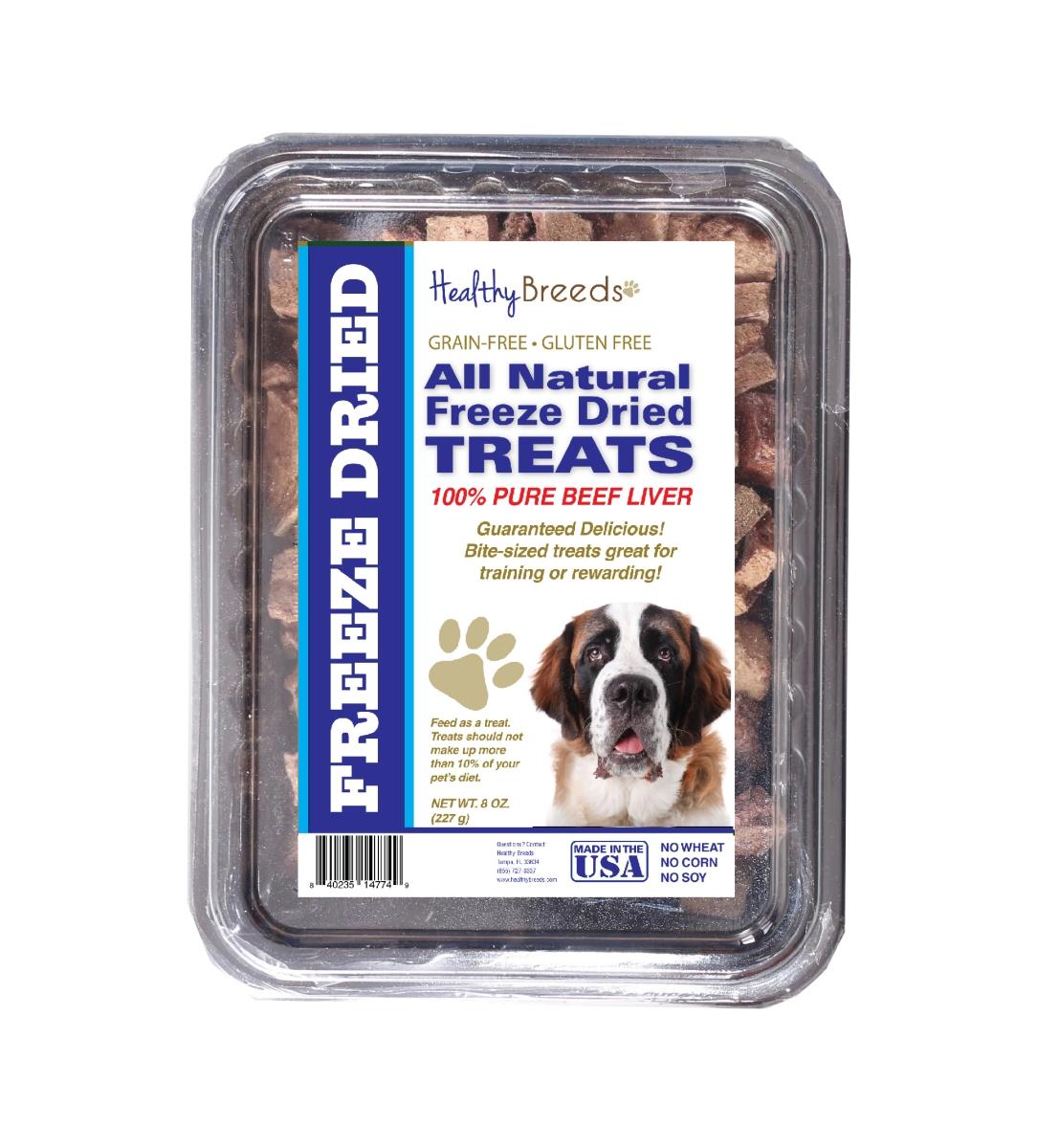 Healthy Breeds 840235148173 10 oz Saint Bernard All Natural Freeze Dried Treats Beef Liver