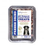 Healthy Breeds 840235148180 10 oz Greater Swiss Mountain Dog All Natural Freeze Dried Treats Beef Liver