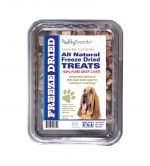 Healthy Breeds 840235148258 10 oz Bloodhound All Natural Freeze Dried Treats Beef Liver