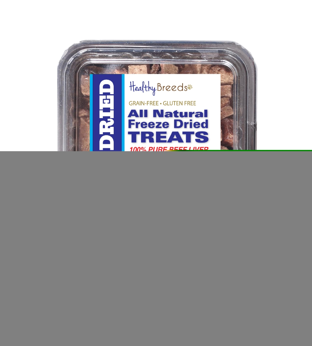 Healthy Breeds 840235148296 10 oz Norwich Terrier All Natural Freeze Dried Treats Beef Liver