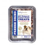 Healthy Breeds 840235148418 10 oz Bulldog All Natural Freeze Dried Treats Beef Liver